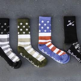 THE BARBELL CARTEL - American Flag Socks