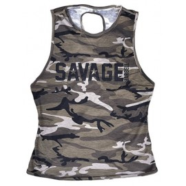 drwod_Savage_barbell_women_crossback_tanktop_Camo