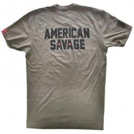 """SAVAGE BARBELL - Men T-Shirt """"American Savage"""""""