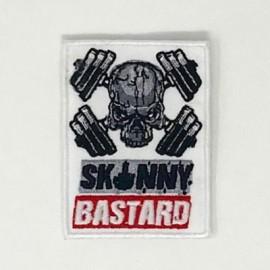 """SKULLFIT """"Skinny Bastard"""" Velcro Patch"""