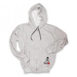 "SKULLFIT - ""Grey Hood"" Sweat-shirt"