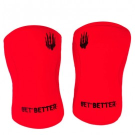 BEAR KOMPLEX -  Red Neoprene Knee Sleeves