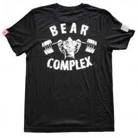 "SAVAGE BARBELL - Men T-Shirt ""Bear complex"""