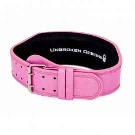 "UNBROKEN DESIGNS - ""Sparkle Princess"" Leather Lifting Belt"