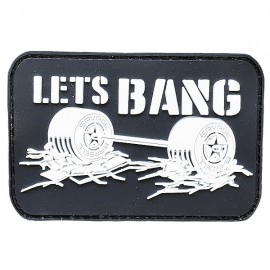 SAVAGE BARBELL - Let's Bang PVC Velcro Patch