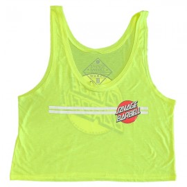 "SAVAGE BARBELL - Crop Top ""Retro Savage - Glow Stick"""