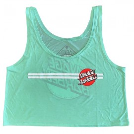 "SAVAGE BARBELL - Crop Top ""Retro Savage - Summer Mint"""