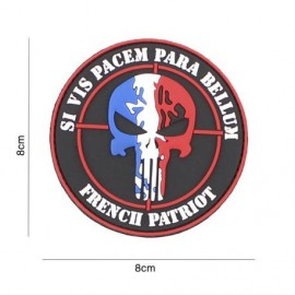"DR WOD ""French Para Bellum"" Rubber Velcro Patch"