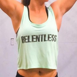 drwod 321 apparel crossfit Crop Relentless Femme