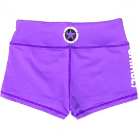 "SAVAGE BARBELL - Women Booty Short ""Purple"""