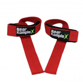 BEAR KOMPLEX - Red lifting straps