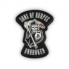 "DR WOD ""Sons of Burpee"" Rubber Velcro Patch"