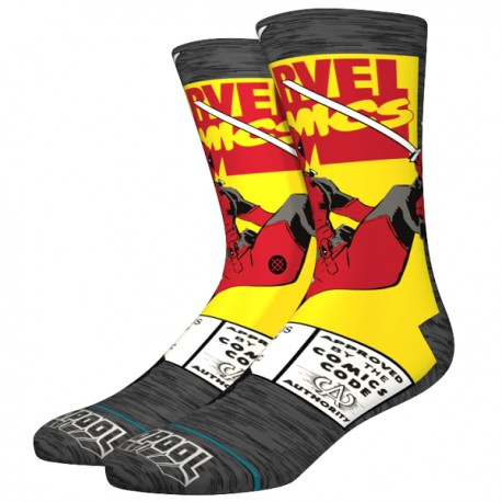 STANCE - Socks Deadpool Comic - DEA - GRY