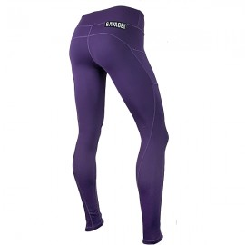 "SAVAGE BARBELL - Women Leggings ""Plum"""