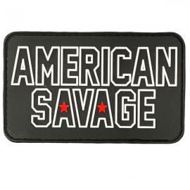 SAVAGE BARBELL - American Savage PVC Velcro Patch