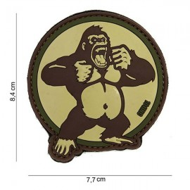 "DR WOD ""Gorilla"" Rubber Velcro Patch"