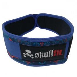 SKULLFIT - DIAMONDS & SKULLS weightlifting belt
