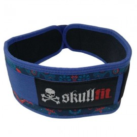 SKULLFIT - DIAMONDS & SKULLS weightlifting belt