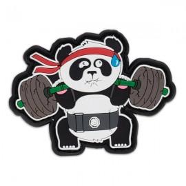 "DR WOD - Patch Velcro PVC ""Back Squat Panda"""