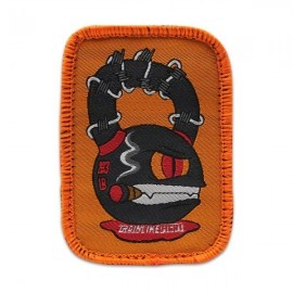 """DR WOD - """"Kettle Monster"""" Woven Velcro Patch"""