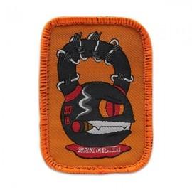 "DR WOD - Patch Velcro Tissu ""Kettle Monster"""