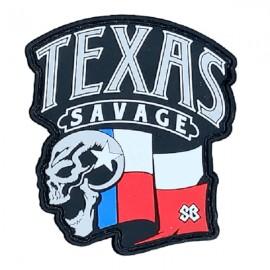 "SAVAGE BARBELL - Patch Velcro PVC ""Texas Savage"""