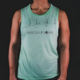 FRAN CINDY - Muscle Up Lover Women's Tank Mint