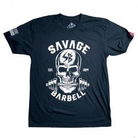 """SAVAGE BARBELL - Men T-Shirt """"Bite Me """""""