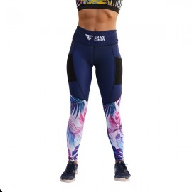 "FRAN CINDY - Women Leggings ""Blue"""