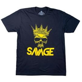 """SAVAGE BARBELL - Men T-Shirt """"King """""""