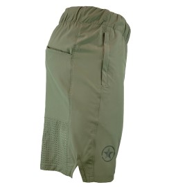 """SAVAGE BARBELL - Men's Short  """"Competition 2.0"""" Dusty Olive"""
