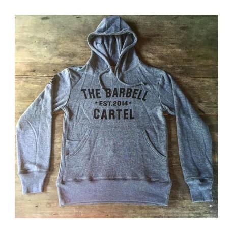 sweat-shirt_crossfit_drwod_barbell_cartel_classic_logo_front